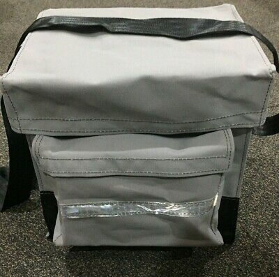Canvas Mining Tool Bag/Crib Bag toolbag 100% Australian Made Grey
