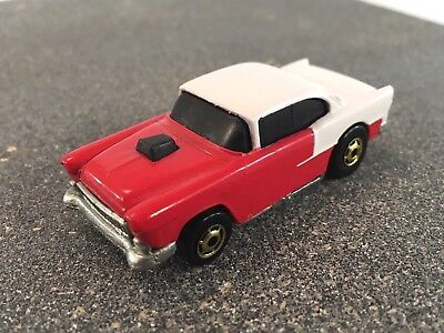 Hot Wheels WHITE RED '55 CHEVY w GHO Loose FREE SHIPPING Hot Ones