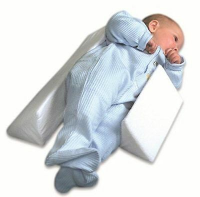 Newborn Infant Anti-Roll Sleep Pillow Support Wedge Adjustable Width Cushion b