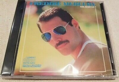 Freddie Mercury - Mr. Bad Guy - CD 1985 (brand new & sealed)