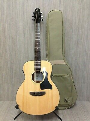 "Caraya 37"" Traveler Series Acoustic Guitar,EQ,Natural+Free Padded Bag P301210EQ"