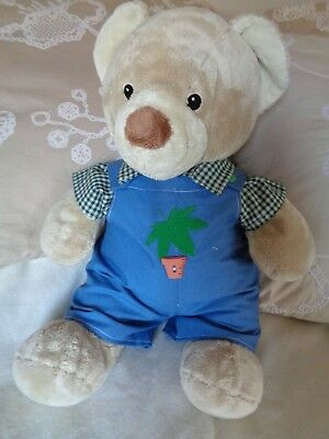 Clothes to fit boys/girls Build a Bear 30cm Pumpkin Patch teddy dungarees/shirt