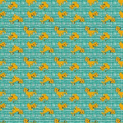 Disney Lion King Simba Toss 67118 100% Cotton fabric by the yard