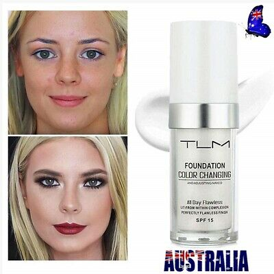 Hot 30ml TLM Color Changing Foundation Cover Concealer Base Makeup Anti-Allergic