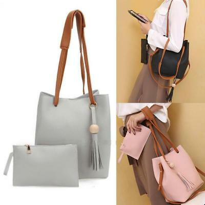 Luxury Women Faux Leather Shoulder Bag Tote Handbag Purse Crossbody Bag CB