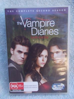 The Vampire Diaries Complete Second Season  5 Disc Boxset  Dvd Ma R4