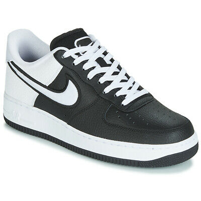 sale retailer 537cc 5414d Nike Sneakers uomo AIR FORCE 1 07 LV8 1 Nero Cuoio 9929652