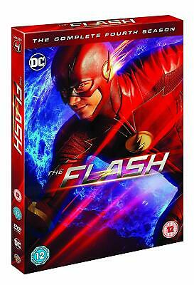 The Flash - Season 4 Complete 5 DVD Special Edition Brand New UK Region 2 DVD