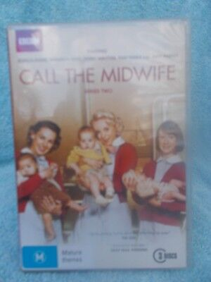 Call The Midwife(Bbc)Series Two(3 Disc Boxset)Jessica Raine Dvd M R4