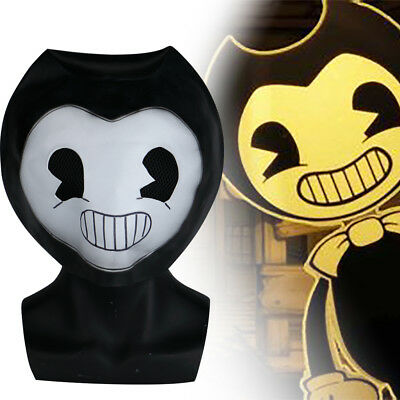 Halloween Bendy And The Ink Machine Role Play Mask Party Fancy Cosplay Prop New