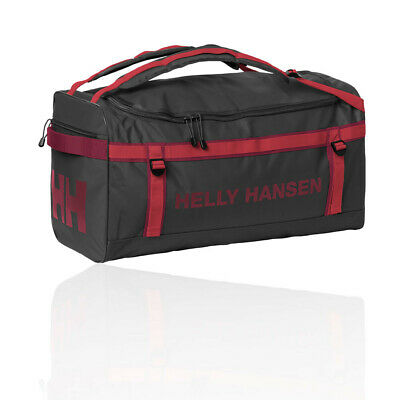 Helly Hansen Unisex Classic Duffel Bag Black Red Sports Outdoors Waterproof 0c339de0a73f