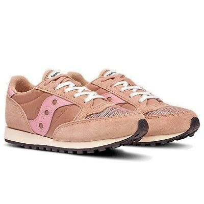 Scarpe Bambina Saucony Jazz O  Vintage SK260411 Rosa Sneakers Casual Shoes  Nuovo 0f5f3f35446