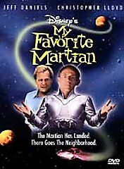 My Favorite Martian (DVD) GOOD DISC + COVER ARTWORK WITH INSERT - NO CASE