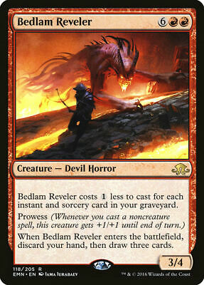 Bedlam Reveler Eldritch Moon Rare EN NM MTG