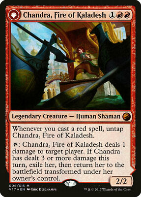 Chandra, Fire of Kaladesh From the Vault: Transform Mythic Rare EN NM MTG