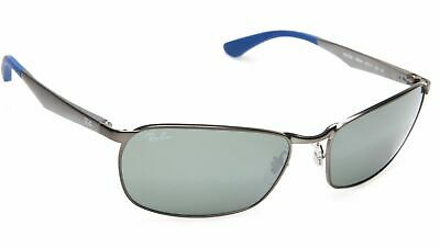 8cd2587c3a5ff RAY-BAN RB3534 029 40 Gunmetal Frame w Green Grey Mirrored 62mm Lenses