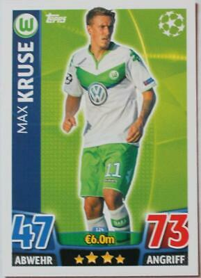 Topps Match Attax Champions League 2015/16 Card No.124 Max Kruse