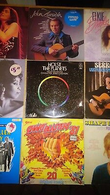 9 Records Job Lot Vinyl LP's feat Felicity Kendal, Crystal Gayle, Glenn Miller