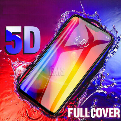5D Full Coverage LG V40 ThinQ Tempered Glass Film LCD Screen Protector Guard