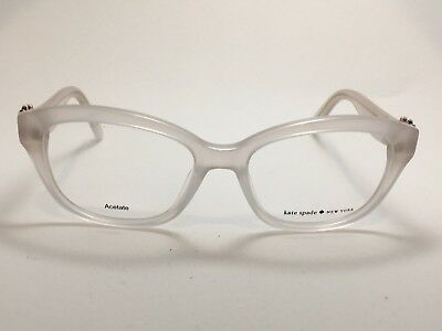 66a974340e2 KATE SPADE AMELINA Full Rim Acetate Eyeglass Frames With Crystals Opal Rose  Gold -  124.99