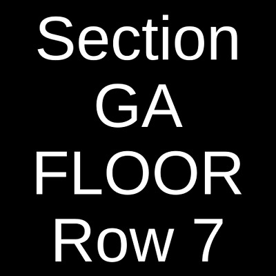 4 Tickets Killswitch Engage & Parkway Drive 5/5/19 Nashville, TN