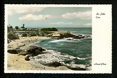 Real Photo postcard RPPC California CA La Jolla Cove Vintage