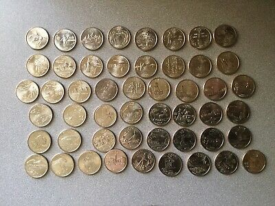 1999 - 2008 U.s. State Quarters Complete Set Of 50 ~  Uncirculated ~ P Mint