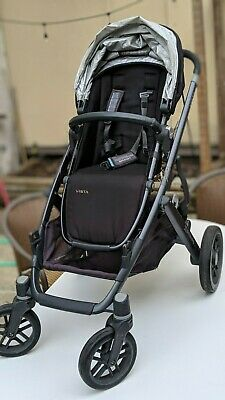 Uppababy Vista Jake Travel System Stroller W Bassinet And Accessories