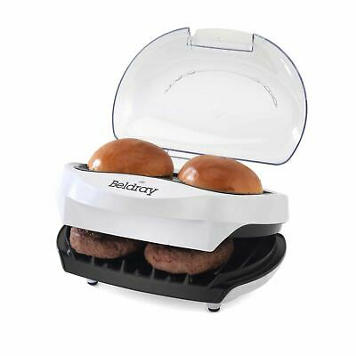 Beldray At Home Versatile Burger Fish Snack Kitchen Grill And Bun Heater