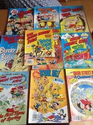 Beano Specials Bash Street Kids Lot 10 Comics