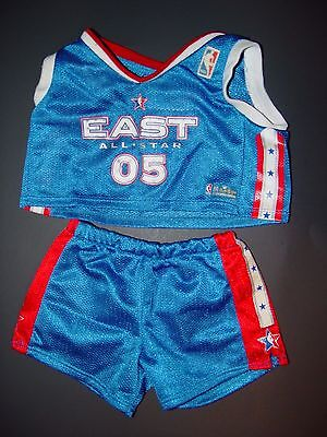 Build a Bear Clothes Clothing Boy NBA East All Star Red White Blue Basketball