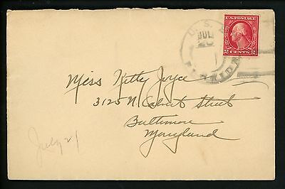US Naval Ship Cover USS Florida BB-30 Pre WWII 1925 ? Battleship Commercial