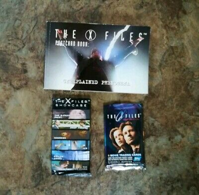 XFiles Trading Cards And Postcard Book