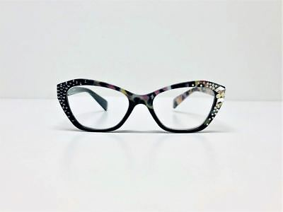 b40c9d7a357 JIMMY CRYSTAL WOMEN S Swarovski Crystal Multi-colored Readers ...