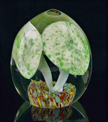 """Vintage Art Glass Multi-Color Paperweight-3"""" High"""