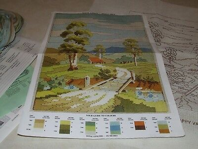 Creative Images Long Stitch Kit - Happy Valley - New