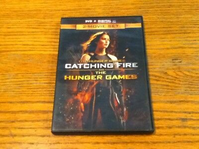 The HUNGER GAMES + CATCHING FIRE DVD. Two Dvds, Movies, No Digital