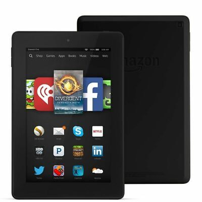 "Amazon Kindle Fire HD 7, 8GB, 7"" HD Display with Alexa"