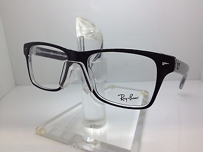 5a116a4ff42 RAY-BAN RX5286 EYEGLASSES-2034 Black Clear-51mm -  305.00