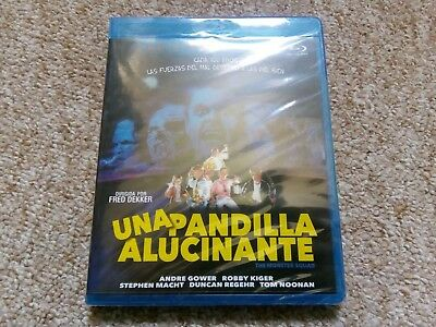 The Monster Squad Blu Ray. Spanish Import. Brand New And Sealed.