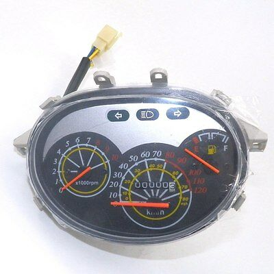 50cc Instrument Gauge Speedometer For 50 150 Chinese gas Scooter Moped