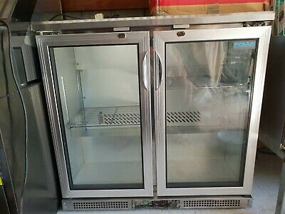 Milk Fridge - Undercounter Commercial Bar Refrigerator. Stainless steel