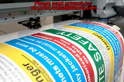 Sticker Printing Custom Printed kiss cut vinyl stickers labels any shape & size