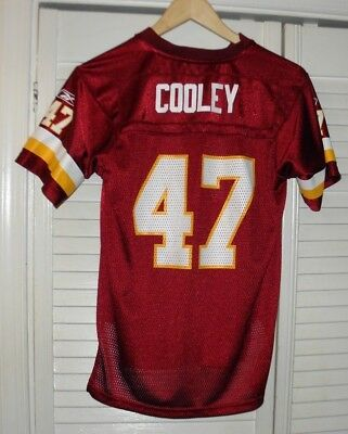 22f48c36 NFL REEBOK WASHINGTON Redskins CHRIS COOLEY Jersey Youth Medium Size 10-12