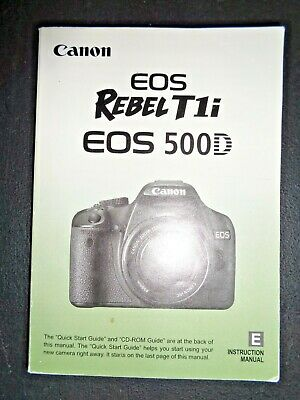 canon t1i manual
