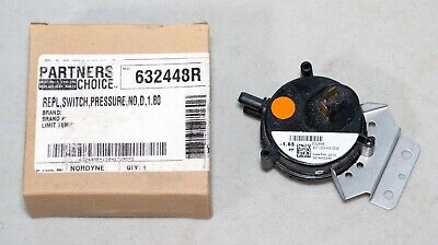 Partners Choice 632448R Pressure Switch 9371DO-HS-0024 -1.65