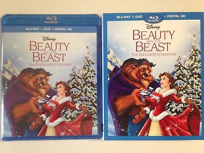 Disney's Beauty and the Beast: The Enchanted Christmas (Blu/DVD/HD) w/slipcover