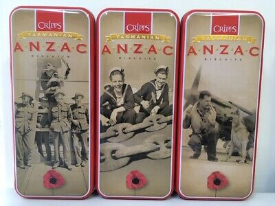 Anzac Biscuit Tins (set of 3 tins) series 5 2019