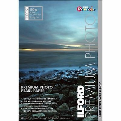 Luster Photo Paper Ilford 4x6x50 Sheets  for Epson Canon and HP