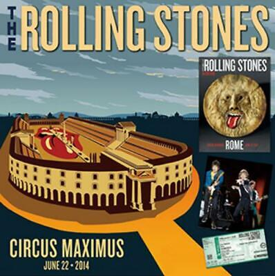 NEW THE ROLLING STONES ROME ITALY 2014  2CD Free Shipping ##Mm